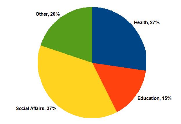 Irish Public Sector Expenditure, 2009